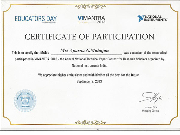 Participants certificate etamemibawa participants certificate yadclub Choice Image