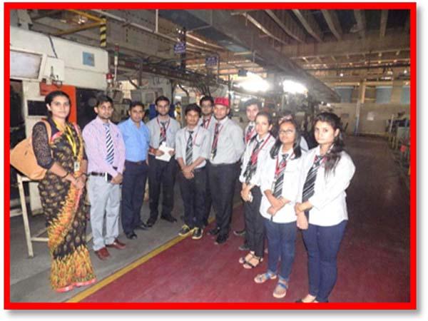 Dronacharya Gurgaon Campus Visit To Skh Metals Limited